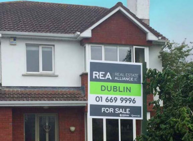 The Cost Of A Three Bed House In Dublin City Has Gone Up By E17000 In Three Months