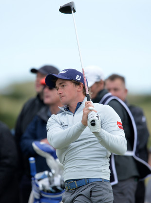 Ireland's Paul Dunne during day four of the Alfred Dunhill Links Championship.