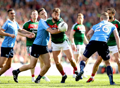 Action from this year's decider, which Dublin won.