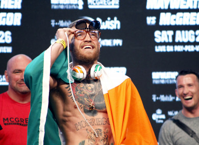 McGregor: Former sparring partner Malignaggi has confirmed that talks are underway for another cross-fight.