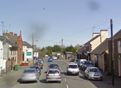Dunleer Main Street in Louth.
