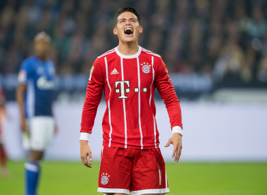 4400a86eb7e Clubs hover as Bayern Munich admit James Rodriguez is in 'a very difficult  situation'