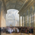The Consecration of the Roman Catholic Church of St. Mary's, Pope's Quay, Cork - James Mahony.<span class=