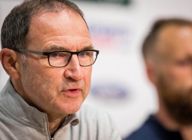 O'Neill speaking at today's press conference.