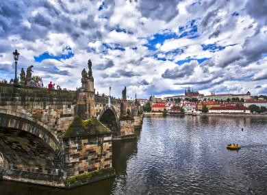 File image of Prague.