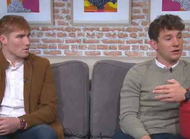 Galway's Conor Whelan and Niall O'Meara of Tipperary talking about how suicide has affected their families.