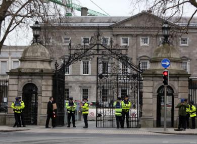 Leinster House, Dublin.