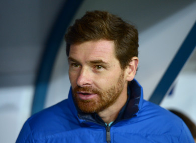 Villas Boas had been in charge of since November 2016.