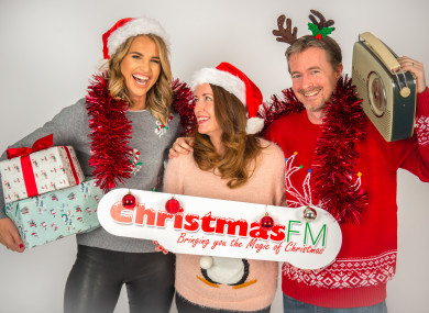 It's officially Christmas FM time