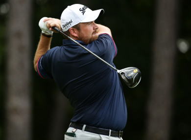 The Offaly golfer finished second behind Jon Rahm.