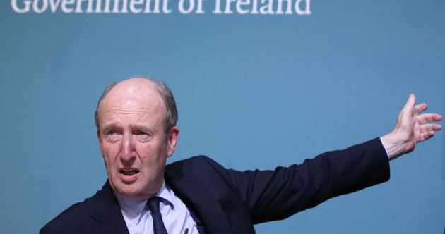 Martin criticises Shane Ross for tweeting about Man Utd game on the eve of the rail strike