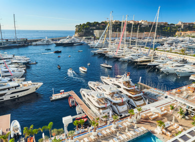 Monaco is one the world's biggest tax havens.