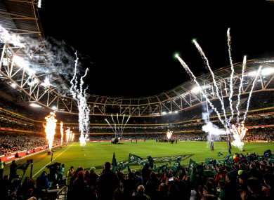 The All Blacks are coming to Dublin next year.