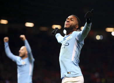 Premier League title City's to lose, but Sterling wary of