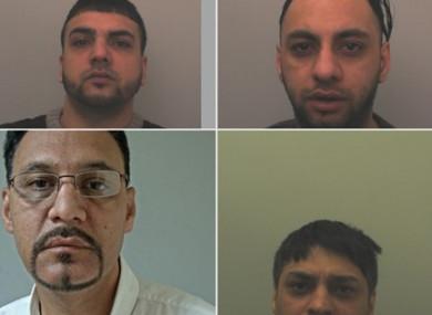 The four defendants