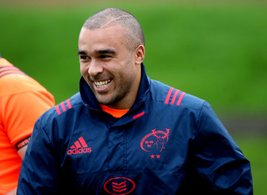 Zebo trained at UL earlier today.