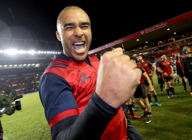 Simon Zebo's Thomond Park tenure will end as he heads to Paris.