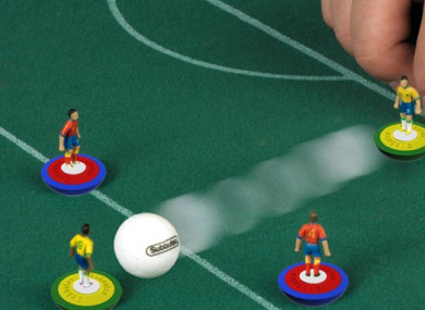 Lots of people got Subbuteo as kids.
