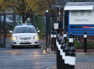 The entrance to Mountjoy Prison in Dublin.
