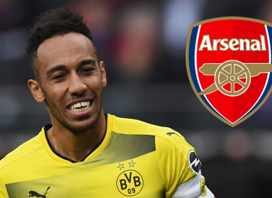 Pierre-Emerick Aubameyang looks set for a move to Arsenal.