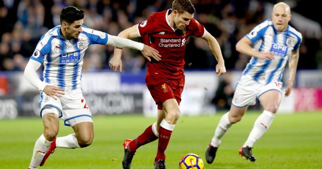 As it happened: Huddersfield v Liverpool, Premier League