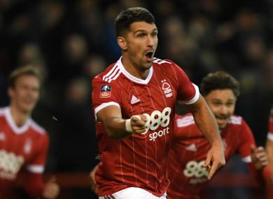 Nottingham Forest's Eric Lichaj.