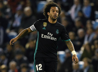 3c23507f0e Marcelo: 'Sad' Real Madrid are 'f***ing sunk' · The42