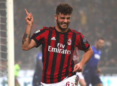 Patrick Cutrone's goal was allowed to stand in Lazio's 2-1 loss to AC Milan.