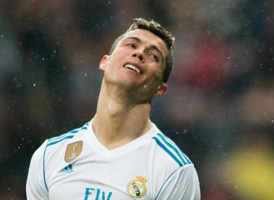 Exit strategy: Real Madrid star Cristiano Ronaldo.