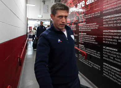 O'Gara was back at Thomond Park with Racing 92 earlier this season.