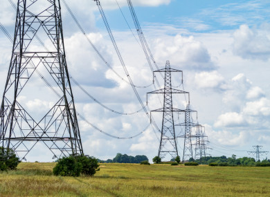 165 pylons will be in Meath and 134 will be in Cavan and Monaghan.