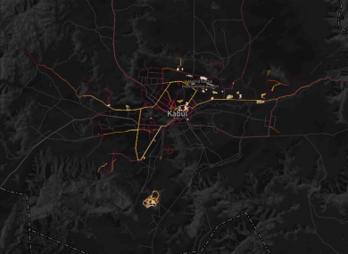 Fitness tracking app gives away location of secret US military bases