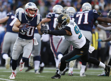 Two fourth quarter touchdowns from Danny Amendola secured the win.