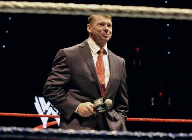 Vince McMahon (file pic).