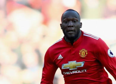 Romelu Lukaku has scored 22 goals in all competitions for Man United this season.