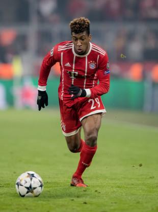 Bayern Munich's Kingsley Coman (file pic).