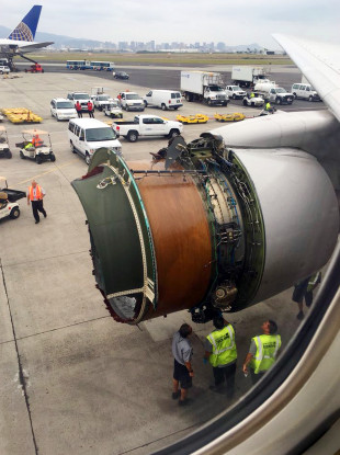 United Airlines plane forced to make emergency landing after