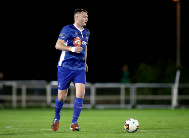 Waterford's Kenny Browne was on target tonight.