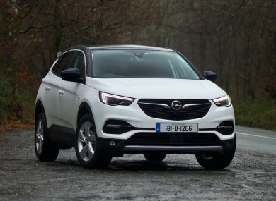 review the opel grandland x is a stylish suv with on board wifi. Black Bedroom Furniture Sets. Home Design Ideas