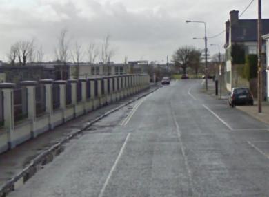 Barrack Road in Loughrea.