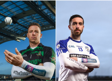 Anthony Nash and Matthew Dilworth are both bidding for All-Ireland club glory.