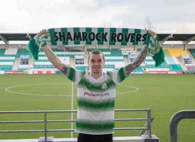Sean Kavanagh recently joined Shamrock Rovers from Fulham.