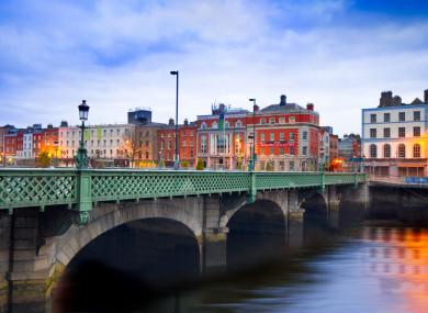 Dublin - where the rent is high.