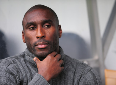 Sol Campbell (file pic).