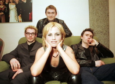 The Cranberries in 1999
