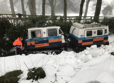 Severe conditions hit Ireland recently during Storm Emma