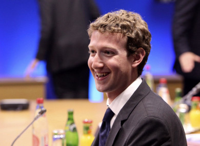 Zuckerberg is the founder and CEO of the world's largest social networking website.