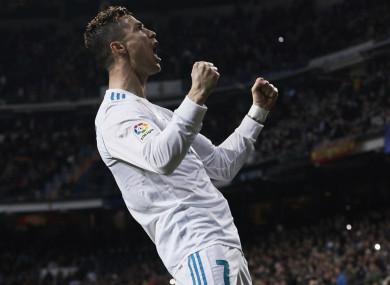 Ronaldo is not short on confidence.