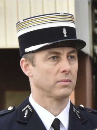 Lieutenant Colonel Arnaud Beltrame who offered himself up to an extremist gunman in exchange for a hostage on Friday.