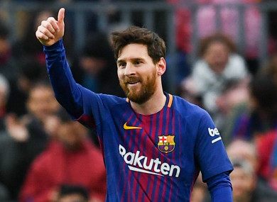 232f5ba74 Messi rescues leaders with late late show in Seville · The42